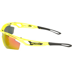 Rudy Project Tralyx SX Occhiali Donna, yellow fluo gloss/multilaser orange